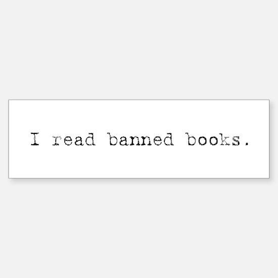 Banned Books Bumper Bumper Bumper Sticker