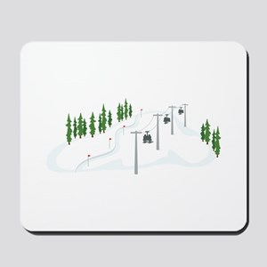 Ski Lift Mousepad