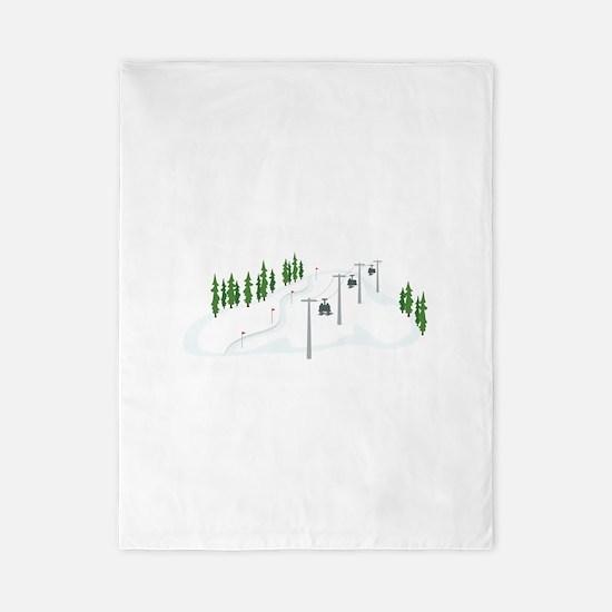 Ski Lift Twin Duvet