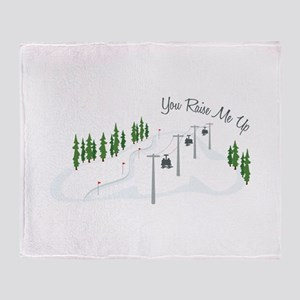 You Raise Me Up Throw Blanket