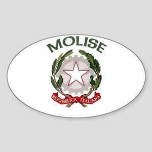 Molise, Italy Oval Sticker