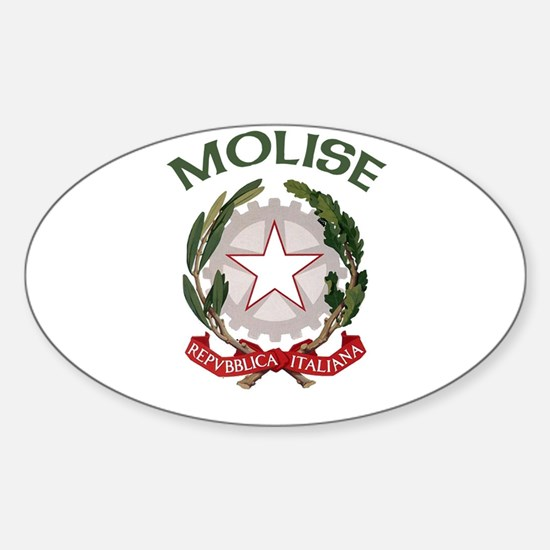 Molise, Italy Oval Decal