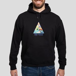 Food Pyramid Hoody