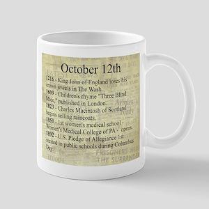 October 12th Mugs