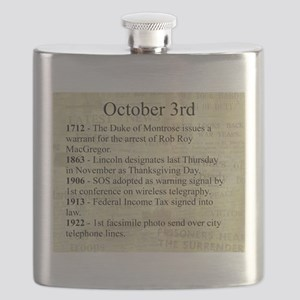 October 3rd Flask