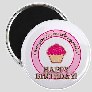 Extra Sprinkles Birthday Magnet