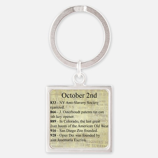 October 2nd Keychains