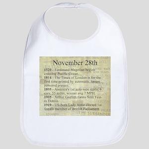 November 28th Bib