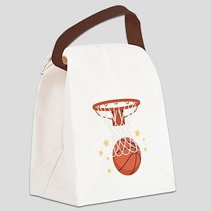 BASKETBALL HOOP Canvas Lunch Bag
