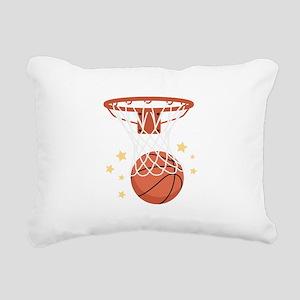 BASKETBALL HOOP Rectangular Canvas Pillow