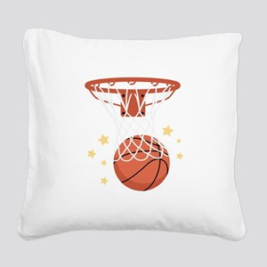 BASKETBALL HOOP Square Canvas Pillow