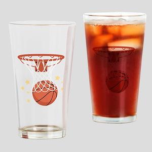 BASKETBALL HOOP Drinking Glass