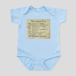 November 21st Body Suit