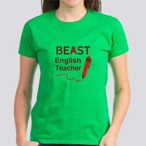 Funny Beast or Best English Teacher T-Shirt