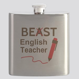 Funny Beast or Best English Teacher Flask