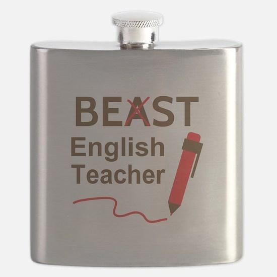 Funny Beast or Best English Teacher Flask