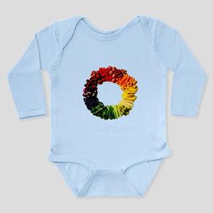 Circle of Fruit n Veg Body Suit