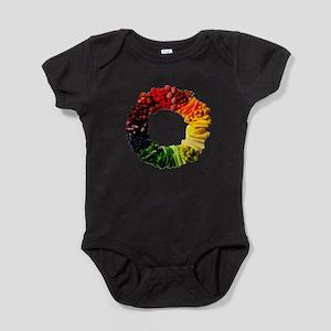 Circle of Fruit n Veg Baby Bodysuit