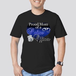 The Mrs. Police Wife Men's Fitted T-Shirt (dark)