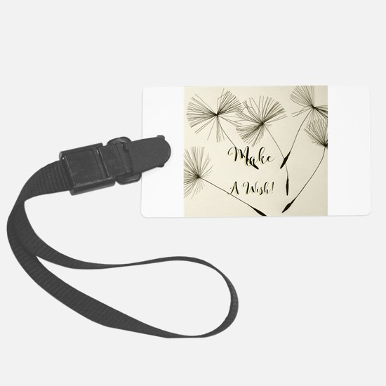 Make a wish design Luggage Tag
