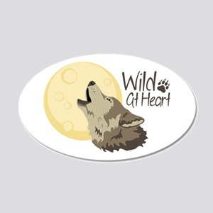 Wild At Heart Wall Decal
