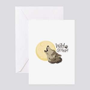 Wild At Heart Greeting Cards