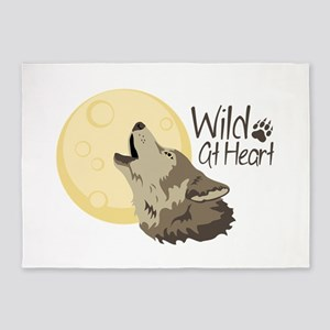 Wild At Heart 5'x7'Area Rug