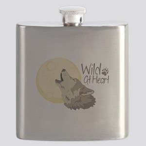 Wild At Heart Flask