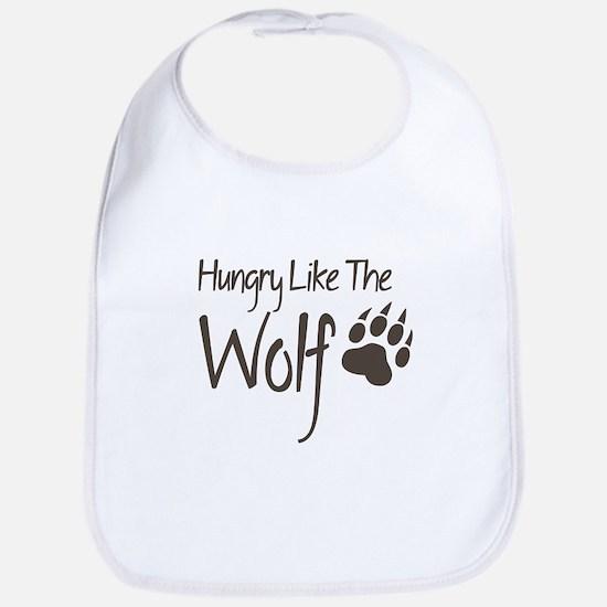 Hungry Like The Wolf Bib