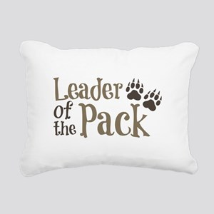 Leader Of The Pack Rectangular Canvas Pillow