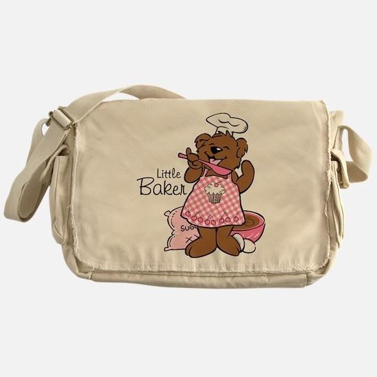Bear Little Baker Messenger Bag