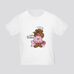 Bear Little Baker Toddler T-Shirt