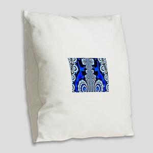 ICE QUEEN Burlap Throw Pillow