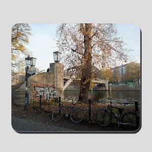 berlin river Mousepad