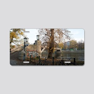 berlin river Aluminum License Plate
