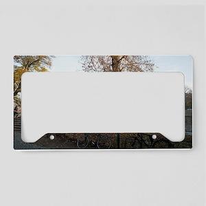 berlin river License Plate Holder