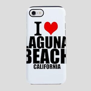 I Love Laguna Beach, California iPhone 7 Tough Cas