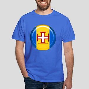 Madeira islands flag Dark T-Shirt