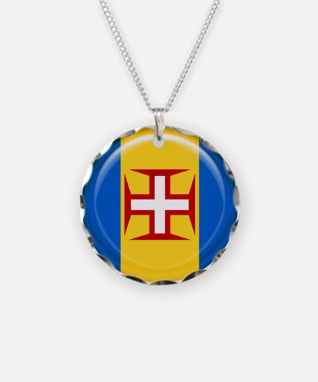 Madeira islands flag Necklace