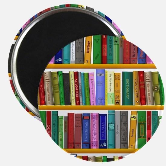 The bookshelf Magnet