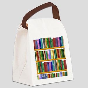 The bookshelf Canvas Lunch Bag