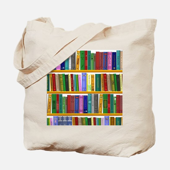 The bookshelf Tote Bag