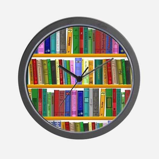 The bookshelf Wall Clock
