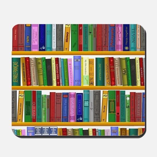 The bookshelf Mousepad