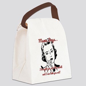 Take You Out Canvas Lunch Bag