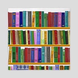 The bookshelf Queen Duvet