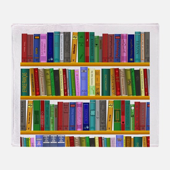 The bookshelf Throw Blanket