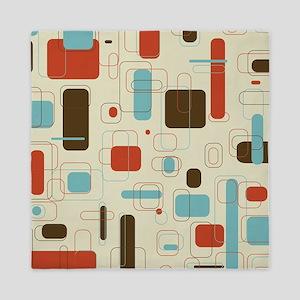 Colorful Modern Geometric Abstract Art Queen Duvet