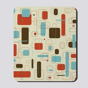 Colorful Modern Geometric Abstract Art D Mousepad