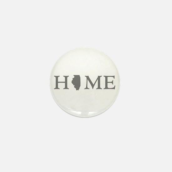Illinois Home State Mini Button